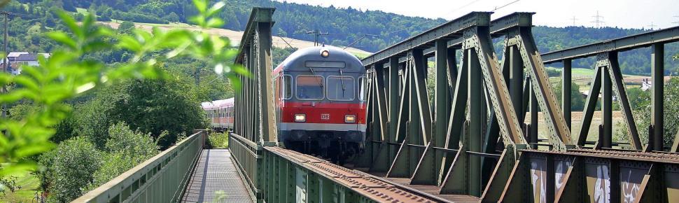 Frankenbahn bei Gerlachsheim